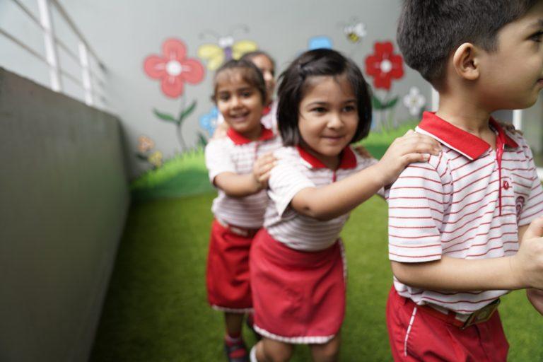 Primary school kids