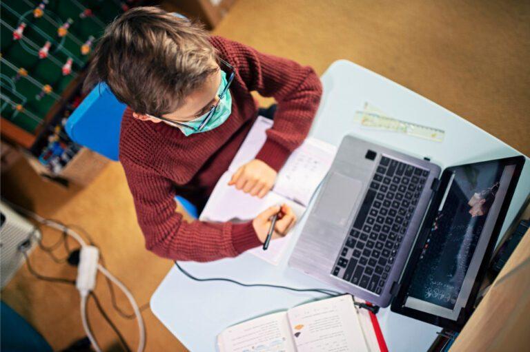Online Education in Purushottam Bhagchandka Academic School