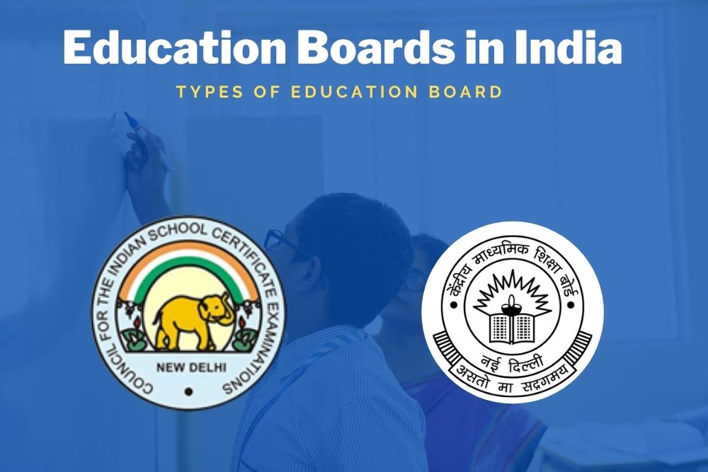 Types of Education Boards in India